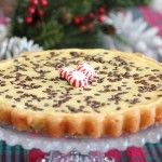 Peppermint Chocolate Chip Cheesecake Tart – An Easy Holiday Recipe Idea