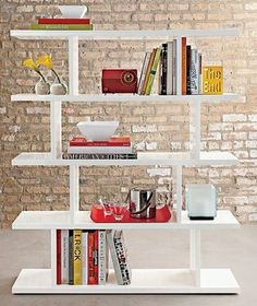 dining rooms, books, bookcases, living rooms, the office, storage furniture, shelves, white, room dividers