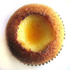 Creme Brulee Cupcakes | Bake It in a Cake
