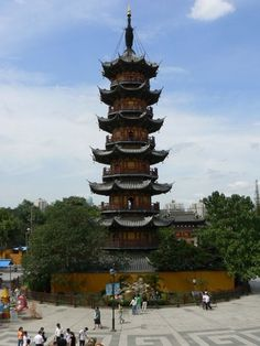 10th century pagoda --- Longhu, Shanghai