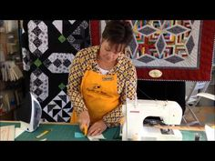 No Tear Paper Piecing video from QuiltNBee