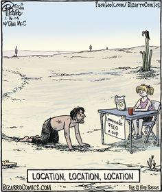 Bizarro-Location