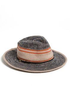 BCBGeneration Striped Panama Hat   Nordstrom