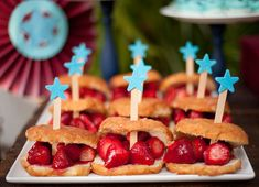 love fourth of july, food, star, 4th of july, strawberri, maple syrup, popsicle stick crafts, dessert, parti