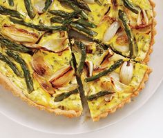 Savory Spring Vegetable and Goat Cheese Tart recipe
