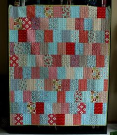 Easy As Pie, tutorial on Crazy Mom Quilts