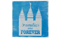 DIY Families Are Forever Subway Art Plaque by Poppy Seed Projects.com