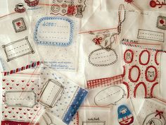 gift bags, idea, plastic bags, christmas goodies, sharpie crafts