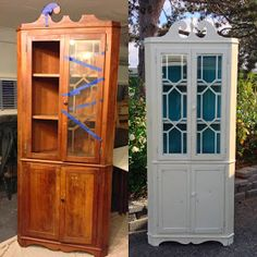 Gorgeous Hutch Makeover!