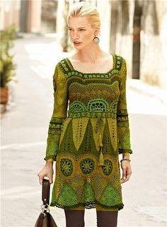 multi green pattern
