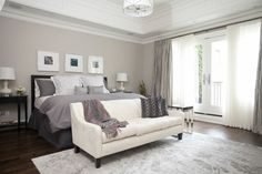 bedroom decorations, bedroom decorating ideas, bedroom colors, grey wall, white, paint colors, master bedrooms, wall colours, bedroom designs
