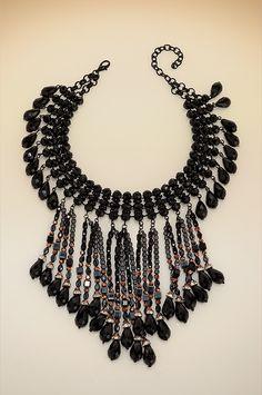 Boston Proper Dramatic bead necklace #bostonproper