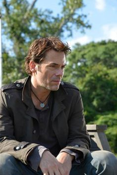 Inspired Distressed Revolution TV Series Miles Matheson necklace in Etsy. Billy Burke #nbcrevolution #Revolution #billyburke