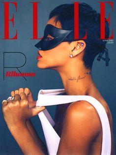 Rihanna na Elle!