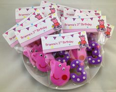 Peppa Pig Party Favors - $4.50/each