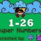 Great for cubby numbers, folder numbers, desk groups, etc....