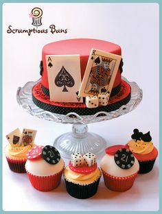 Casino Cake by Scrumptious Buns (Samantha), via Flickr