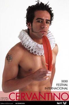 Cervates XXI del maestro Luis Almeida