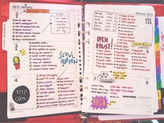 to do list. Colorful!