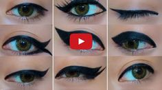 Well applied eyeliner can create such a dramatic impression where make up is concerned. Watch Lupe as she cleverly shows you 9 great eyeliner looks.