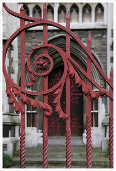 Whimsical Wrought Iron