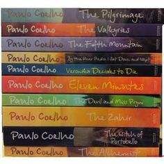Have all these and more! Coelho-obsessed? Why yes! :D