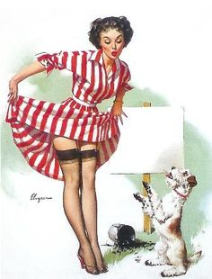 1950's Pin Up
