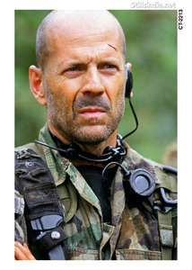 Bruce Willis- He just keeps getting better, and hotter................nuff said