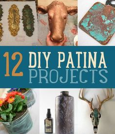 DIY Patina Projects | Amazing project we just can't get enough of. #DiyReady www.diyready.com