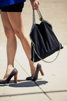 I really want to DIY this Stella McCartney Falabella bag!