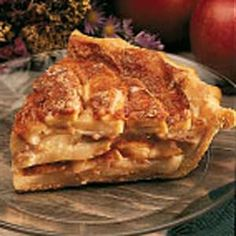 German Apple Pie.......This is the best Apple Pie I ever made...only recipe I will use to make apple pie.