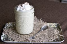 Holiday time equals eggnog time! Check out this homemade version.
