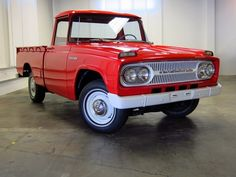 1967 toyota truck -- I would love to find one of these...in good working order, great looking....and cheap. :)
