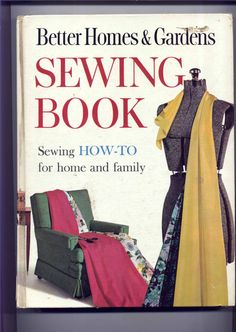 1960s SEWING BOOK by Better Homes & Gardens by PatternAndStitch, $8.25