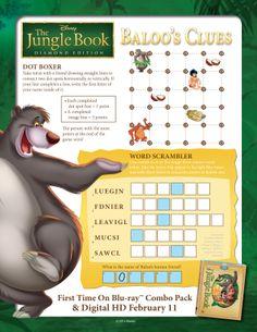 Baloo's Clues! #BareNecessities