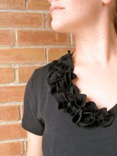 Sarahndipities ~ fortunate handmade finds: Things to Make: T-Shirt Refashion #2