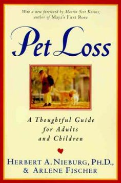 Explains how to cope with the death or loss of a beloved pet and provides advice to help people deal with grief, sorrow, and loneliness.