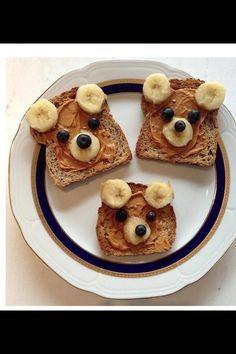 fun food for kids, teddi bear, teddy bears, food. for. kids, bug