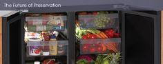 island fridge