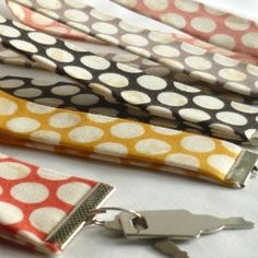 You don't need a sewing machine to make your own key fobs. Learn how with this tutorial.