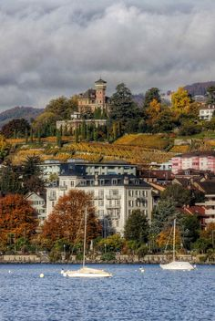 Autumn in Montreux, Switzerland