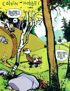 10 Life Lessons from Calvin and Hobbes