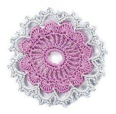 Esquemas de flores de crochet. | SexyCrochet.COM