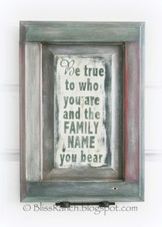 Bliss Ranch: Pine Cabinet Door Gift