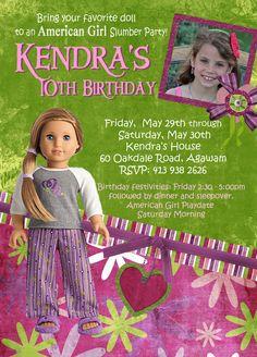 girl doll, birthday parties, doll bday, birthdays, photo birthday, doll photo, ag doll, parti idea, american girls