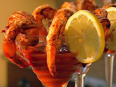 BBQ Shrimp with Cocktail Sauce Recipe : Patrick and Gina Neely : Food Network - FoodNetwork.com