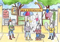 gay cowgirl unicorns