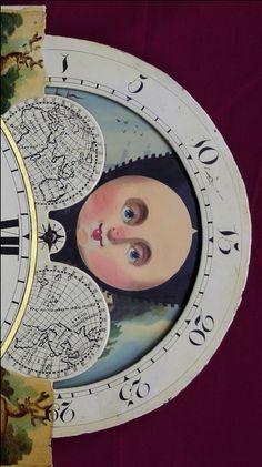 Moon Clock Face...