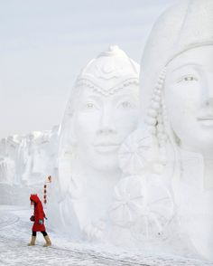 Harbin Ice Festival, NE China.