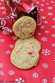 Peppermint M&M Pudding Cookies - Whats Cooking Love?